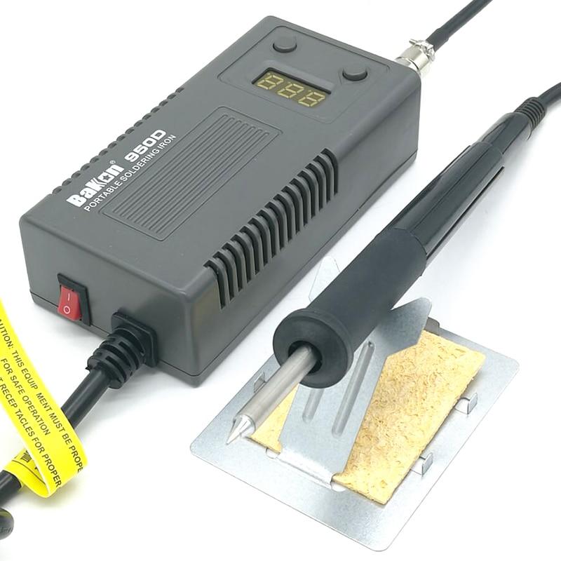 bk950d т12 цифровая паяльная станция портативный