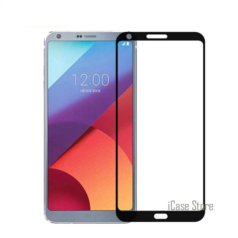 2.5D 9H cubierta completa colorida de vidrio templado para LG K10 K8 K7 2016 2017 G6 V10 V20 Protector de pantalla película protectora endurecida