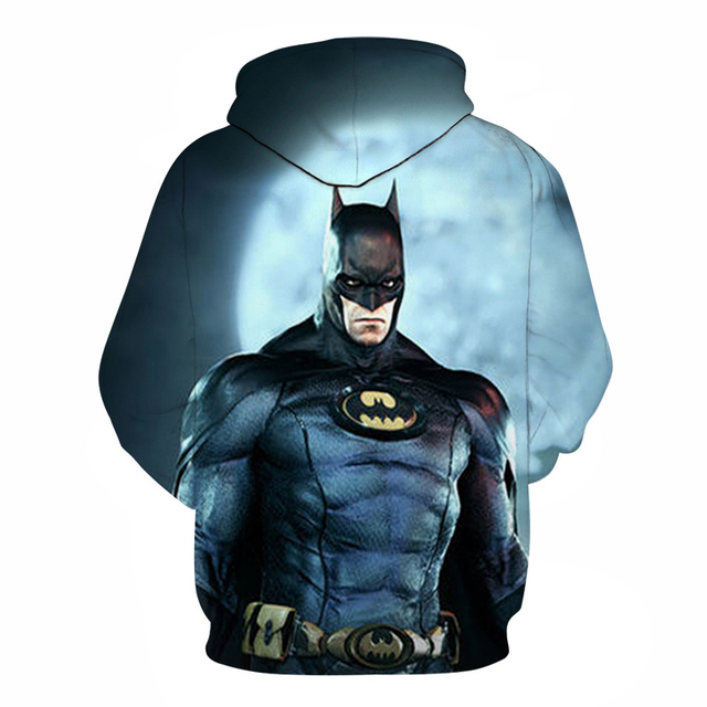 Avengers 3 Infinity War Iron Man Superhero batman Hoodie Sweatshirt For Men 3D Print Hoodies Streetwear Casual Cospaly Hoodies 5