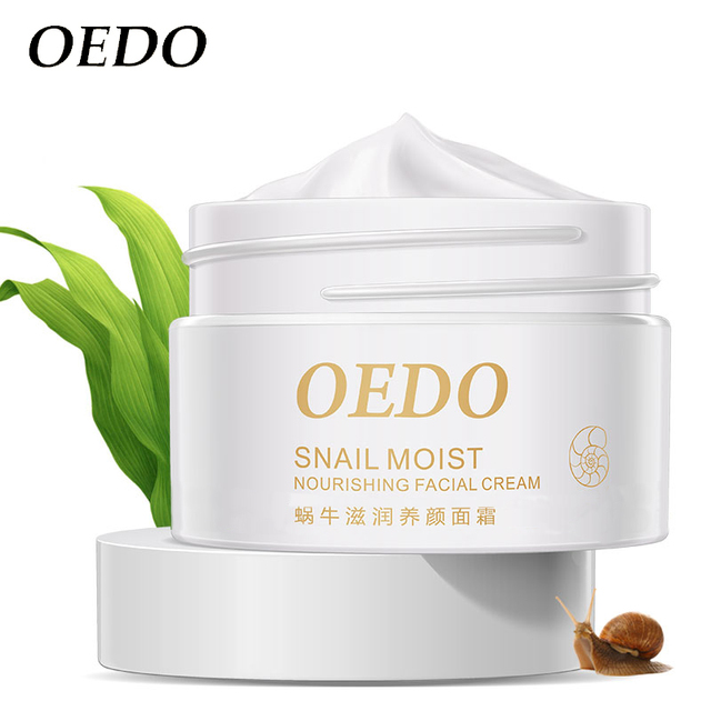 Anti Wrinkle Anti Aging Snail Moist Nourishing Facial Cream Cream Imported Raw Materials Skin Care Wrinkle Firming Snail Care 4
