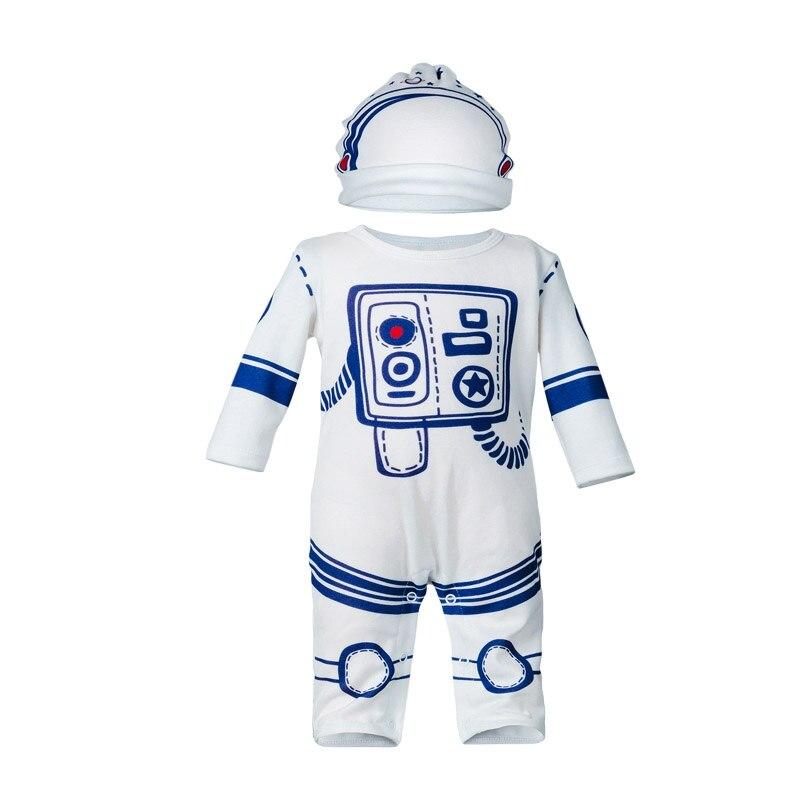 Newborn Baby Boy Clothes Sets Astronaut Clothes Set Toddler Infant Boys Jumpsuit Autumn Clothes Costume Roupas Infantis Menino