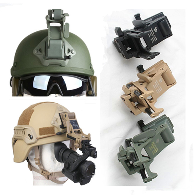 Emerson New Helmets Accessories NVG PVS-7 PSV-14 Rhino Mounts Night Vision Army Goggle Helmet Mount for Hunting  and Airsoft casio mtd 1082d 2a