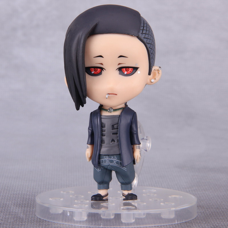 10cm Anime Tokyo Ghoul Uta Cosplay Figure Q Version PVC Action Figures Collectible Model Toys Dolls Christmas Gifts With Box