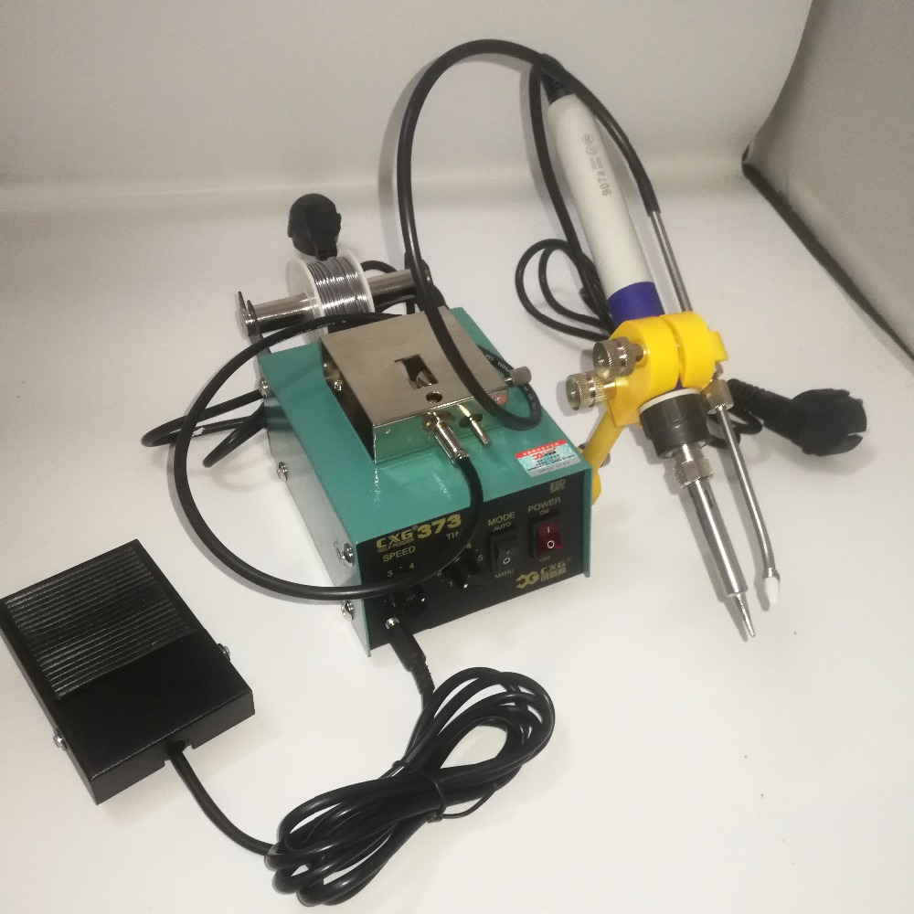 Lead-free Welding Soldering Machine CXG-373 Automatic Tin Supply Feed SystemLead-free Welding Soldering Machine CXG-373 Automatic Tin Supply Feed System