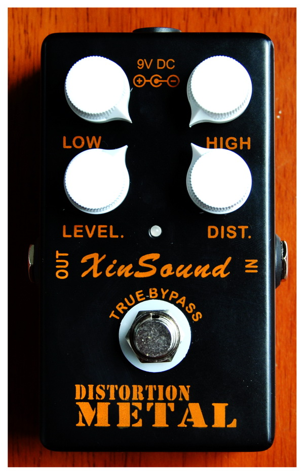 heavy metal distortion guitar effect pedal by xinsound in guitar parts accessories from sports. Black Bedroom Furniture Sets. Home Design Ideas