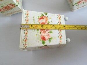Image 5 - 6Pcs/Lot D10*H10CM Square Metal Planter Iron flower pots Wedding decorative flower Tub