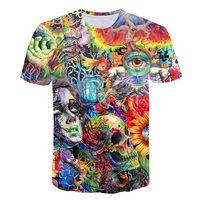 Ancient Knowledge, футболка с психоделическим 3d принтом, футболка для женщин и мужчин, модная одежда, топы, наряды, футболки, Летний стиль