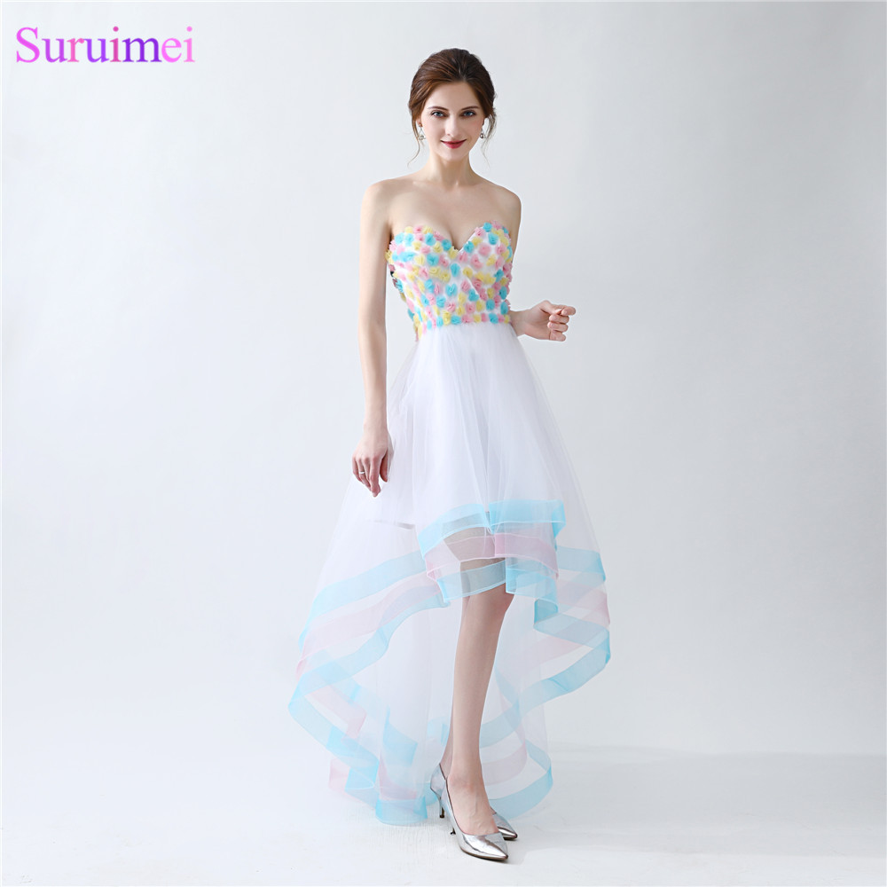 Online Get Cheap Short Rainbow Prom Dress -Aliexpress.com ...