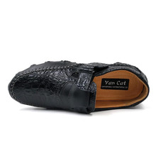 VANCAT 2017 New Comfortable Casual Shoes Loafers Men Shoes Quality Handmade Genuine Leather Shoes Men Flats  Moccasins Shoes