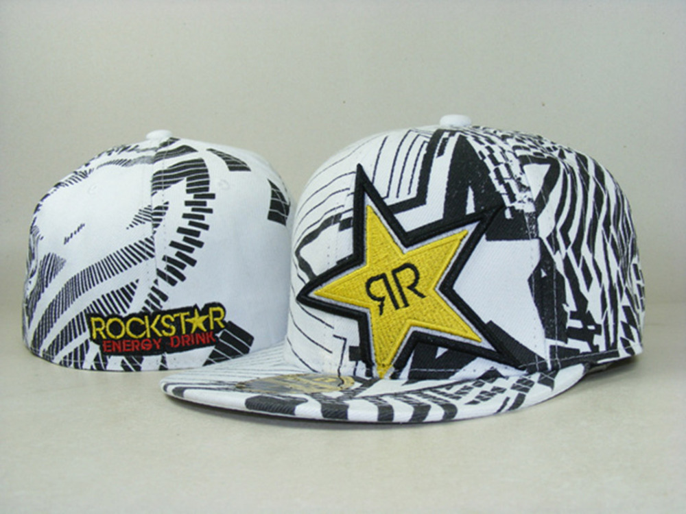 9ae3a12ef New 2015 Rockstar baseball caps brand hip hop cap sport fitted hats for men  women fitted sizes summer hat gorras snapback caps-in Baseball Caps from  Apparel ...
