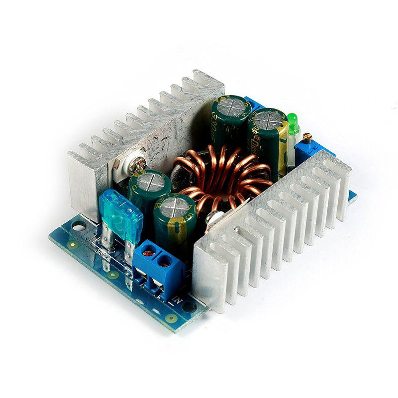 150W DC Boost Converter Power Transformer Module 8-32V to 9-46V 12/24V Step-up Volt Inverter Controller Stabilizer for Car Autom maitech 03100637 20w dc 12v to ac 220v step up transformer inverter power boost module green