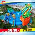 Juegos inflables parque acuático, parque comercial barato aqua adultos y niños parque de atracciones inflable