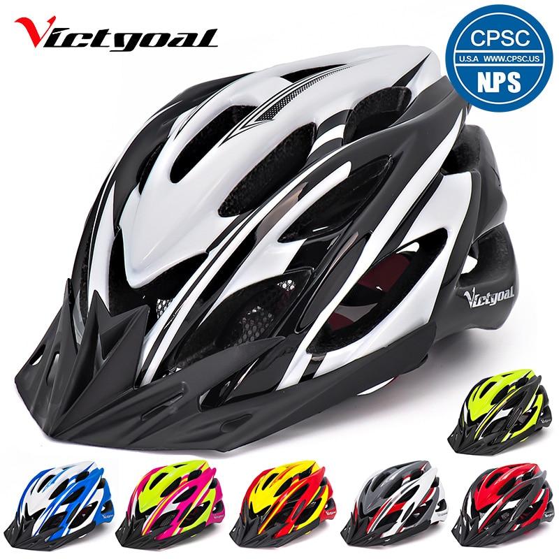 VICTGOAL Bike Helmets Breathable Men Women Cycling Helmet Ultralight Mountain Road Bicycle Integrally Molded M1041