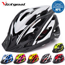 VICTGOAL Bike Helmets Breathable Men Women Cycling Helmet Ultralight Mountain Road Bicycle Integrally Molded M1041