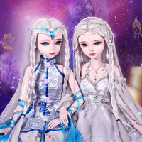 60cm Handmade Bjd 1/3 Dolls 12 Zodiac Taurus/Virgo/Scorpio 23 Jointed SD Dolls Girls Toys For Children Birthday Chirstmas Gift
