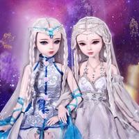 60cm Handmade Bjd 1/3 Dolls 12 Zodiac Taurus/Virgo/Scorpio 23 Jointed SD Dolls Girls Toys For Children Birthday Chirstmas Gift