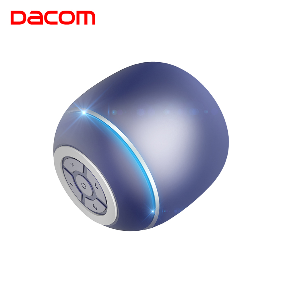 DACOM Q1 Bluetooth Speaker Mini Portable Wireless Speakers Bass Stereo Sound Box Subwoof Audio AUX MP3 Music Player for Phone