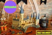 Новый Гарри Волшебный Замок Хогвартс fit legoings Гарри Поттер замок город создатель строительные блоки кирпичи Kid 71043 Малыш DIY игрушки подарок
