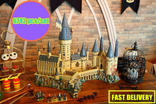 New Harry Magic Hogwarts Castle fit legoings harry potter castle city creator Building Blocks Bricks Kid 71043 kid DIY Toys gift(China)