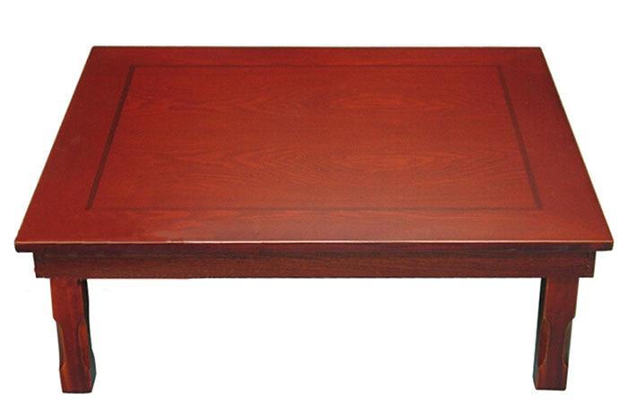 Korean Table Rectangle 9075cm Folding Leg Living Room