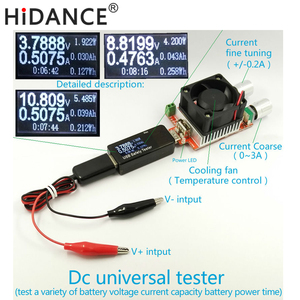 Battery Tester Power meter vol