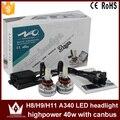 Cheetah high quality A340-H8 H9 H11 CAR COB LED Headlight fog lights 3600LM 36W 6000K H8 H9 H11 LED Headlight for car fog Light