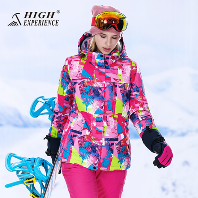 8581835ad 2018 wintersport ski suit women snow suits thermal snowboard jacket ...
