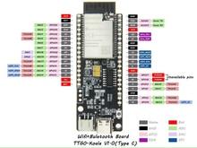 Lilygo®Ttgo t コアラ ESP32 WROOM 32 ESP32 wifi & bluetooth モジュール 4 メガバイト開発ボード ESP32 WROVER B