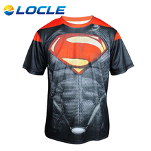 LOCLE Durable MTB Bike Bicycle Clothes Ropa Ciclismo Racing Sports Cycling Clothing Motocycle T-shirt Mens Cycling Jersey