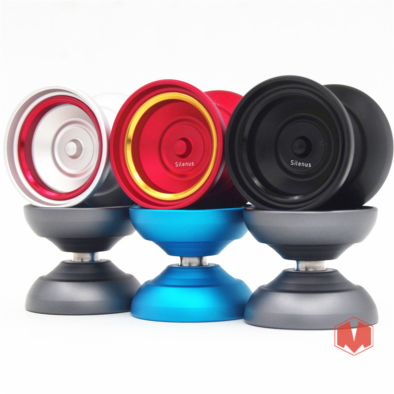 2018 Nouvelle arrivée TOPYO Silenus2 YOYO professionnel yo-yo coloré anneau En Métal yoyo Concurrence Professionnel yoyo pour pleayer
