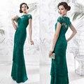 Последние дизайн мать невесты длинное вечернее платье леди вечерние платья элегантные платья madrina де madres novia VL14