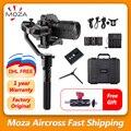 MOZA Aircross ручной карданный стабилизатор steadicam для беззеркальной камеры до 1,8 кг для sony A6000 RX100 A7 серии Pana GH4/5