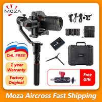 MOZA Aircross Handheld Gimbal Stabilizer steadicam For Mirrorless Camera up to 1.8kg for Sony A6000 RX100 A7 Series Pana GH4/5