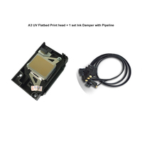 New Printhead for A3 UV Flatbed Printer head original print head with ink damper and pipeline For Epson R1390
