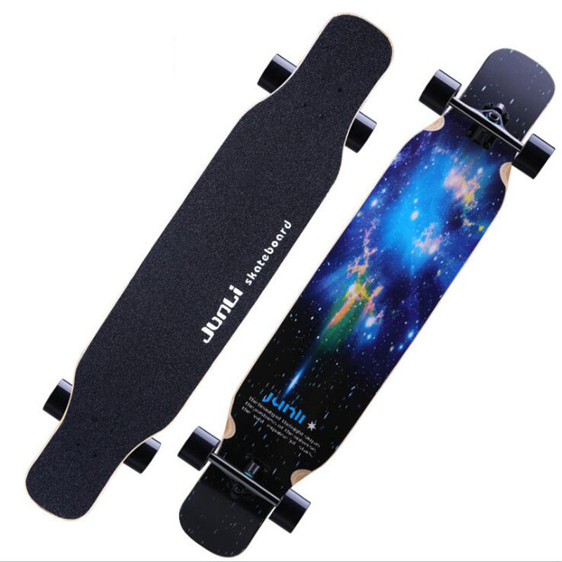 4 Wheels Professional Skate Dancing Longboard 118CM Highway Dance Board Downhill Freestyle Road Street Long board