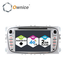 Ownice C500 2Din Android 6.0 4 Core Car DVD Player For FORD Mondeo S-MAX Connect FOCUS 2 2008-2011 With Radio GPS 4G LTE Network