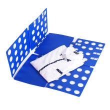 Clothes Folding Board Plastic Magic Fast Speed T-Shirt Clothes Easy Fold Organize 40*16cm(China)
