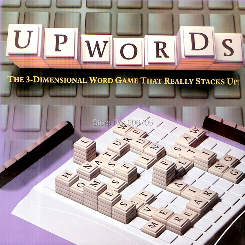 El clásico juego de palabras altas, el clásico juego de palabras tridimensionales que realmente se apiña, se apiña, alta y alta puntuación.