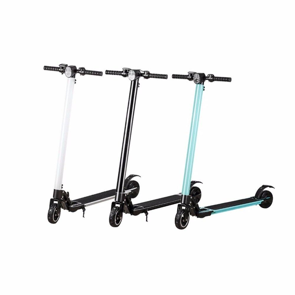 где купить  TSAI Mini 2 Wheels Smart Electric Scooter Lightweight Portable Skateboard Foldable Hoverboard Ride Shock Absorption  по лучшей цене