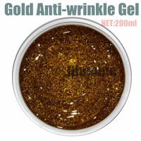 200ml Ageless Face Nano Gold Anti Wrinkle Gel Firming Skin Anti Aging Skin Care Products Wholesale