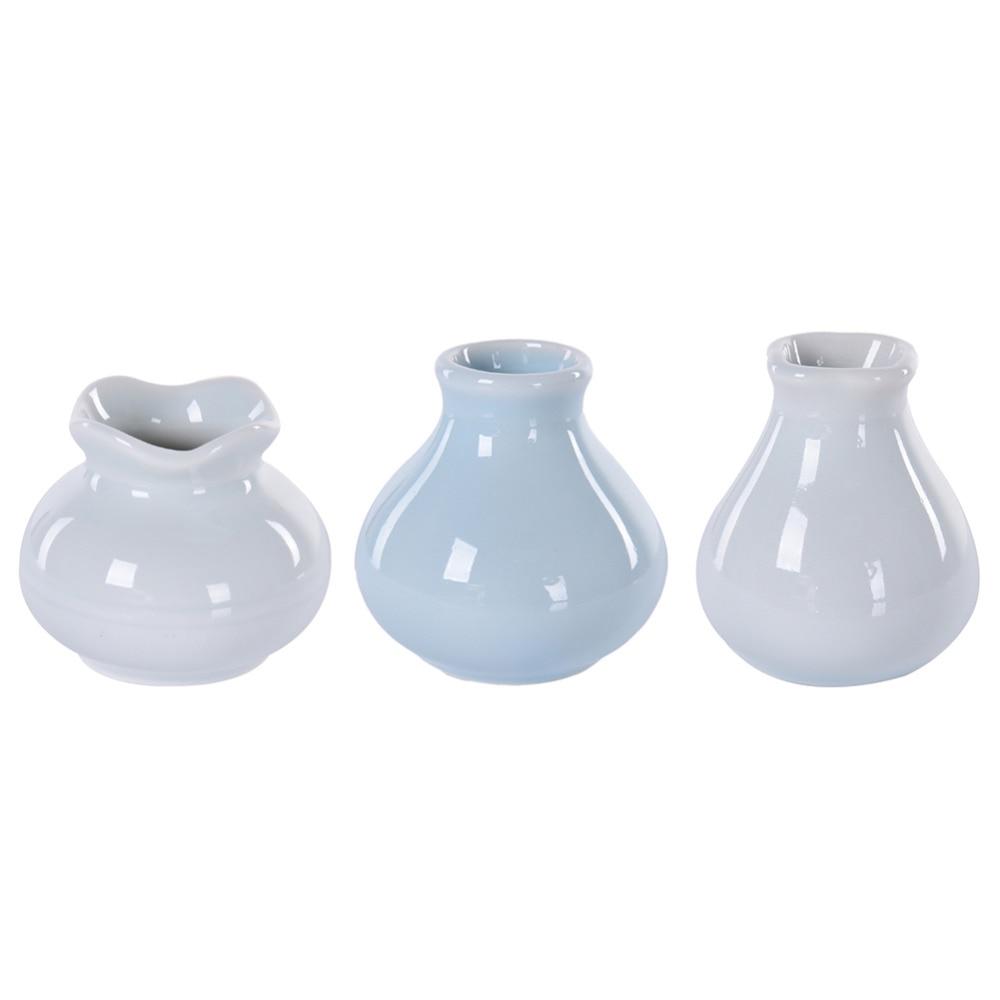 high quality white modern vase promotionshop for high quality  - modern minimalist style desktop ceramic flower vase white ceramic vaseoffice home decor ornament