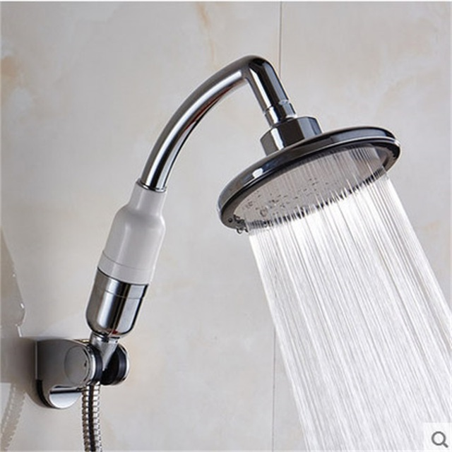 2017 New Shower Head Pressurized Water Saving 6 inch Large Size ...