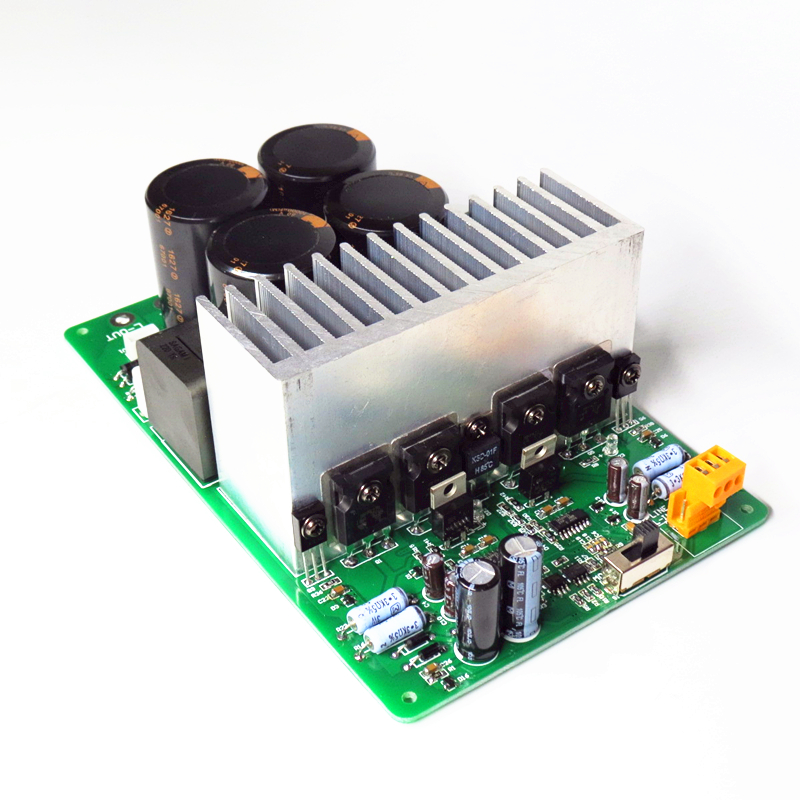 US $99 74 7% OFF|Assembled IRAUD2000 Deluxe Top D Class 2000W IRS2092S  Digital Amplifier Board-in Amplifier from Consumer Electronics on