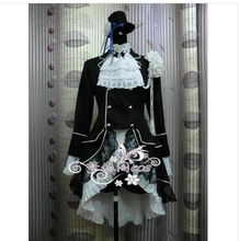 Black Butler Cosplay Ciel Phantomhive Dark Blue Costume -Custom made