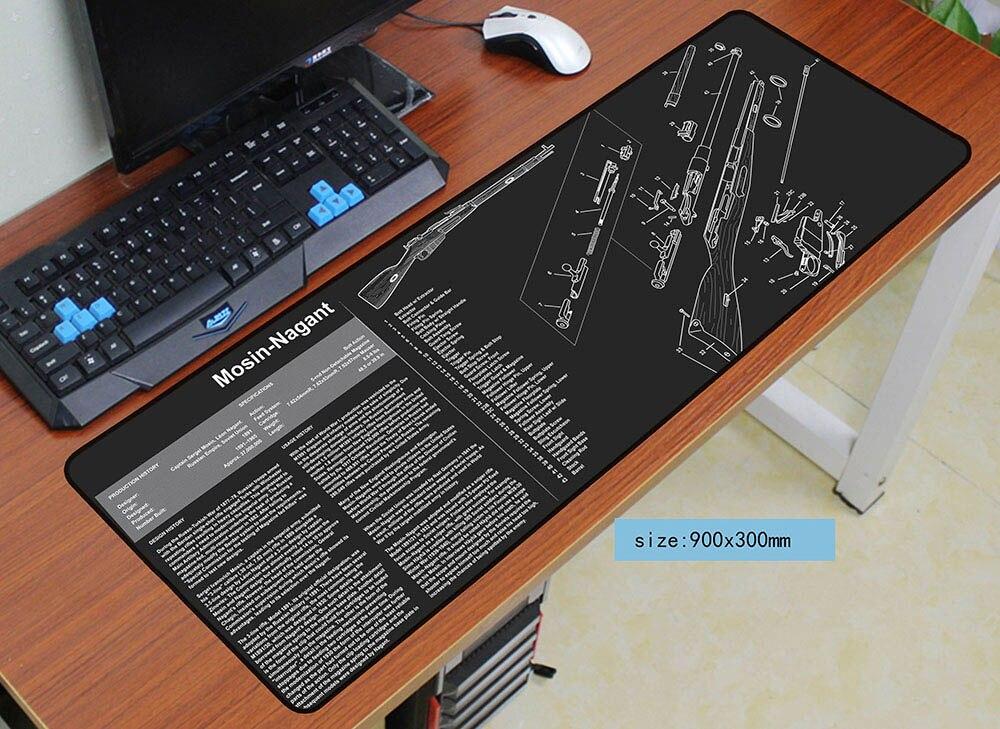 Mode 900x300x3mm ar15 souris pad tapis de souris de jeu gamer souris tapis pad de jeu personnalisé ordinateur m14 padmouse ordinateur portable Batman jouer tapis