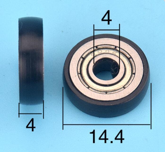696 6*15*5 Plastic Nylon POM Ball Bearings 6x15x5 mm 12 pcs