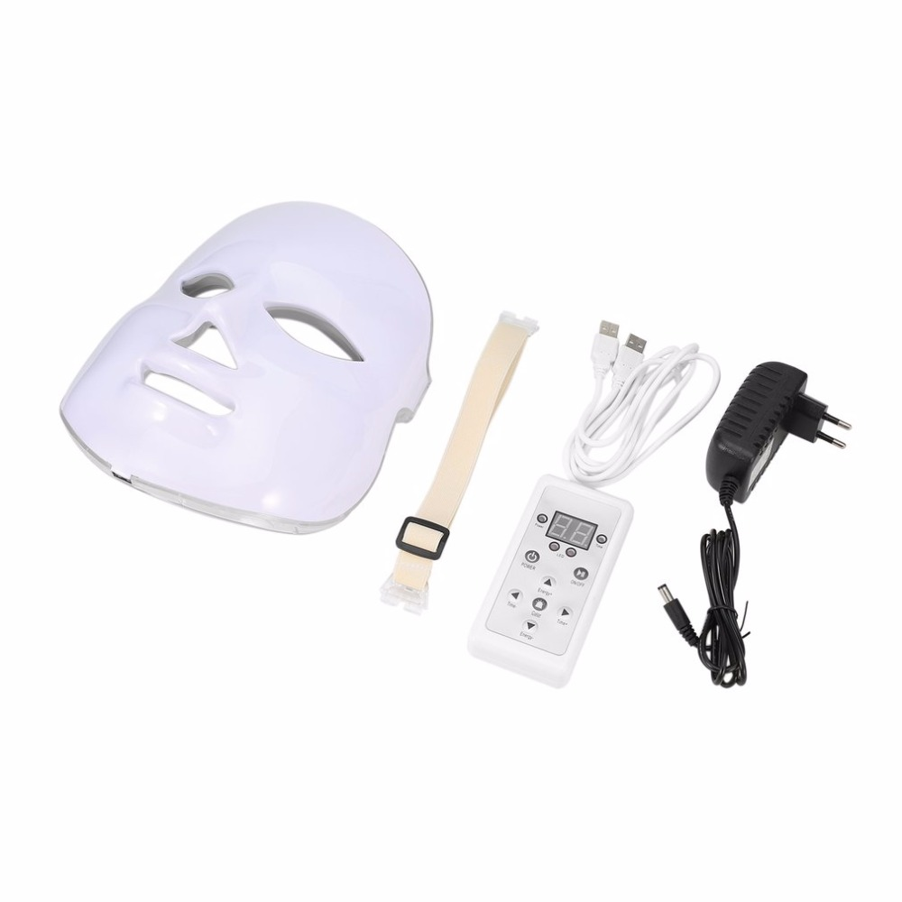 Korean Photodynamic LED Facial Mask Home Use Beauty Instrument Anti acne Skin Rejuvenation LED Photodynamic Beauty Face Mask New hot sale safety home use electric potential therapeutic instrument beauty