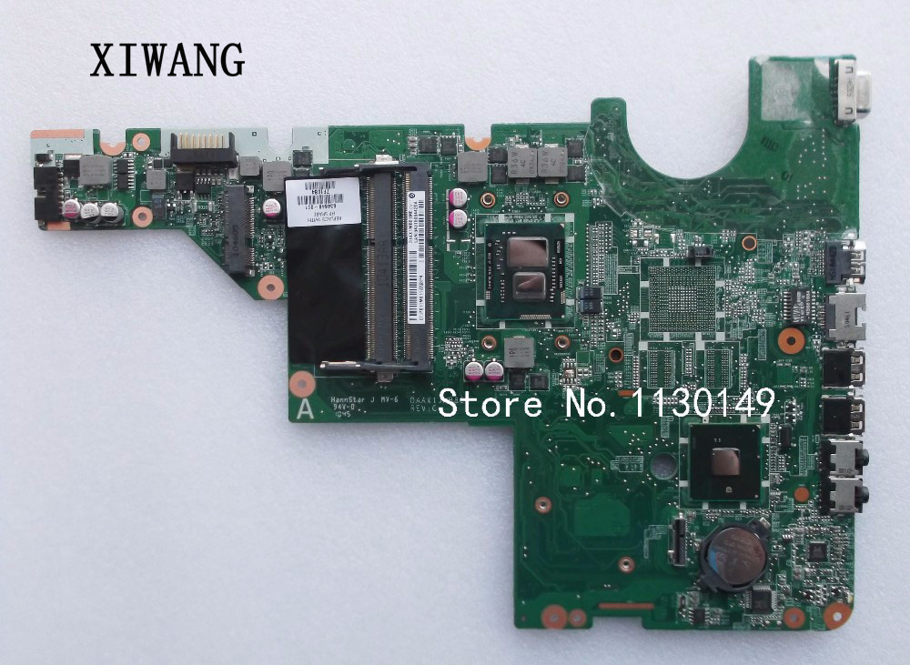 634648-001 laptop motherboard for HP G62 CQ62 CQ42 G42 I3-350M motherboard series notebook system board, 100% tested