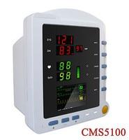 CONTEC Пульс насыщения крови кислородом жизнедеятельности пациента Мониторы CMS5100 po2 PR НИАД Приборы для измерения артериального давления Монит