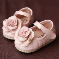 Beautiful Flower Child Shoes Children Shoes Soft Lady Sweet Princess Shoes Toddler Leather Footwear Baby's